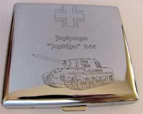 "Zigarettenetui - Jagdpanzer ""JAGDTIGER"" 1944"