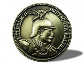 Anstecker Kaiser Wilhelm II - Deutscher Kaiser