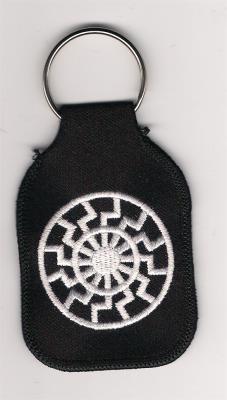 Schlüsselanhänger Schwarze Sonne