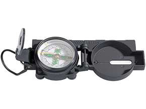 Kompass mit Metallgehäuse