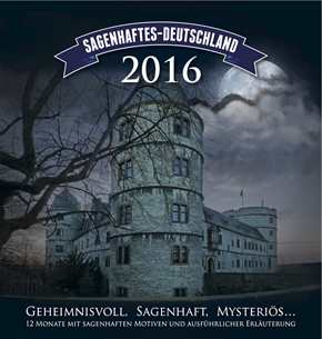 Kalender - Sagenhaftes Deutschland 2016