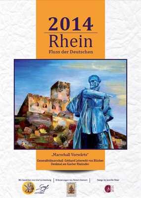 Kalender - Rhein - Fluss der Deutschen 2014
