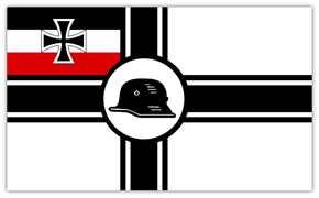 """Fahne """"Stahlhelm Bund der Frontsoldaten"""""""