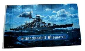 Fahne Schlachtschiff Bismarck II