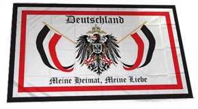 Fahne Deutschland meine Heimat, meine Liebe