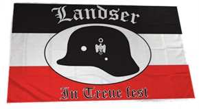 Fahne Landser - In Treue fest