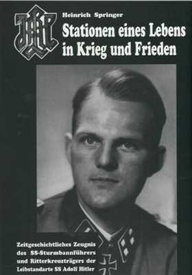 Springer, Heinrich: Stationen eines Lebens... LAH