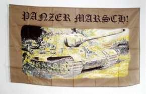 Fahne TIGER Panzer Marsch!