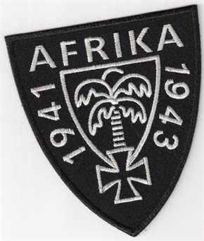 Aufnäher Afrika 1941 - 1943