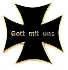 Anstecker Gott mit uns Eisernes Kreuz