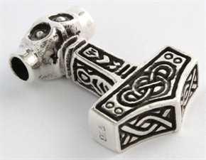 Anhänger Thors Hammer - Thorfinn, Silber