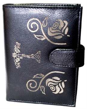 Damengeldbörse Rosen Thorhammer
