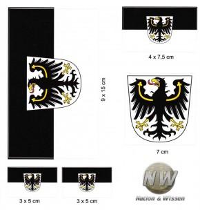 Aufkleber Set - Ostpreußen