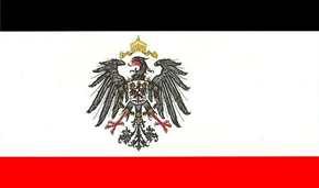 Fahne Kaiserreich mit Adler