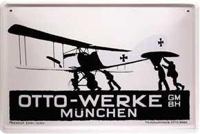 Werbeschild Otto-Werke München