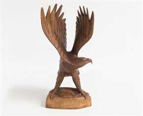 """Holzfigur """"Deutscher Adler"""""""