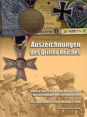 Gallego, G. T.: Auszeichnungen des Dritten Reiches