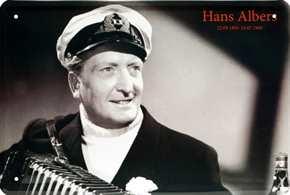 Werbeschild Hans Albers