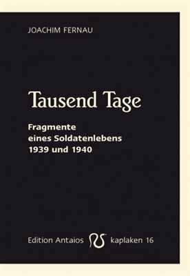 Fernau, Joachim: Tausend Tage