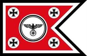 Fahne Schwalbenschwanz Eisernes Kreuz