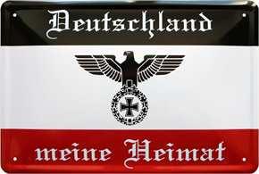 Werbeschild Deutschland meine Heimat