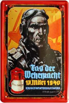 Werbeschild Tag der Wehrmacht IV