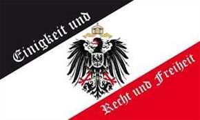 Fahne Einigkeit und Recht und Freiheit
