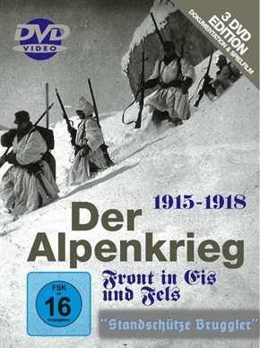 Der Alpenkrieg 1915-1918, 3 DVDs