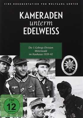 Kameraden unterm Edelweiss, DVD