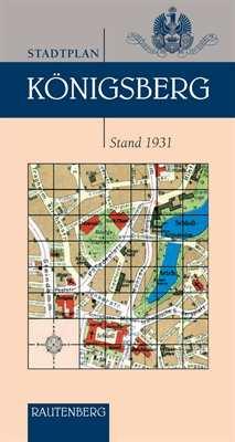 Stadtplan Königsberg - Stand 1931