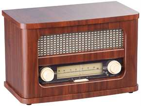 Nostalgisches Stereo-FM-Radio
