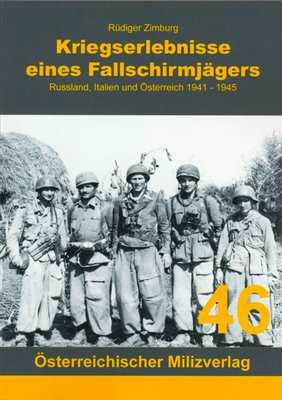 Zimburg: Kriegserlebnisse eines Fallschirmjägers