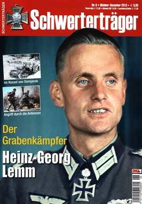 Schwerterträger Nr. 6/2018 - Heinz-Georg Lemm