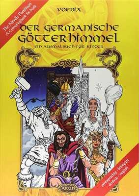 Voenix: Der germanische Götterhimmel - Ausmalbuch