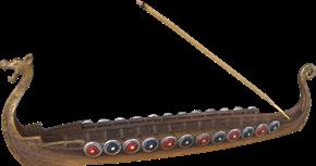 Wikingerschiff Räucherstäbchenhalter