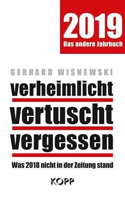Wisnewski, Gerhard: verheimlicht, vertuscht...