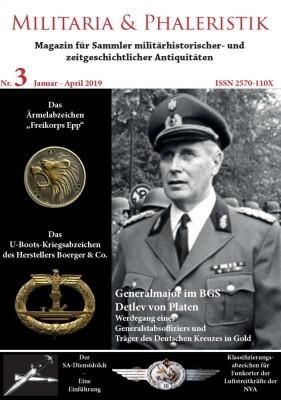 Militaria & Phaleristik - Ausgabe 3 (2019)