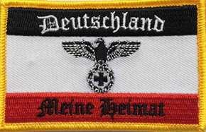 Aufnäher Deutschland - Meine Heimat
