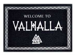 Fußmatte Welcome to Valhalla