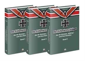 """Die Ritterkreuzträger d. Div. """"Wiking""""  Bd. 1-3"""