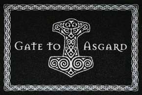 Fußmatte Gate to Asgard II