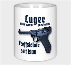 Keramiktasse/ Kaffeepott - Luger