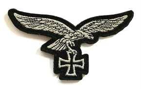 Aufnäher Luftwaffenadler Eisernes Kreuz