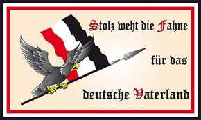 Fahne Stolz weht die Fahne...