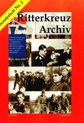 Ritterkreuz Archiv - Sonderheft Nr. 2