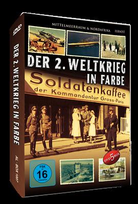 Der 2. Weltkrieg in Farbe, 5 DVD-Box