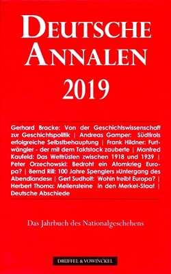 Sudholt, Dr. Gert: Deutsche Annalen 2019
