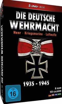 Die Deutsche Wehrmacht 1935 -1945, 5 DVD-Box