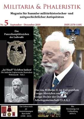 Militaria & Phaleristik - Ausgabe 5 (2019)