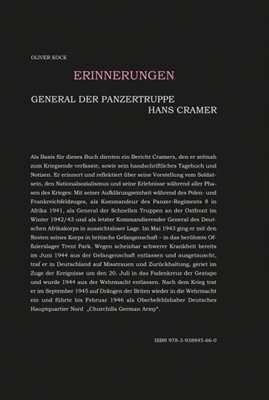 Kock, O.: General der Panzertruppen Hans Cramer